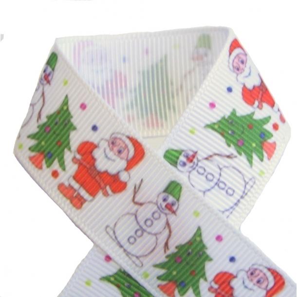 Grosgrainbånd - Julemand
