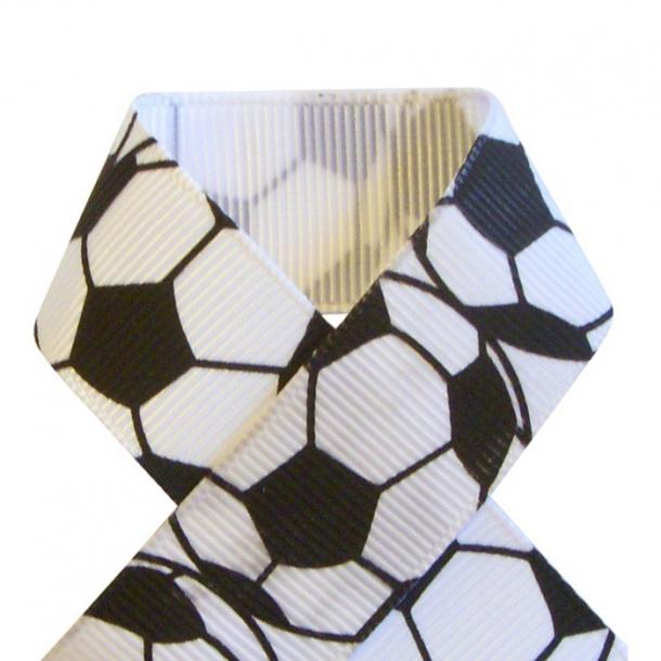 Grosgrainbånd - Fodbold