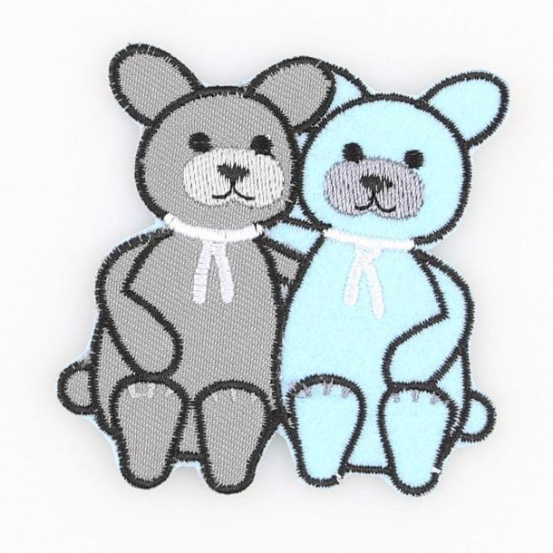 Strygemærke - Kattene Burt & Bart