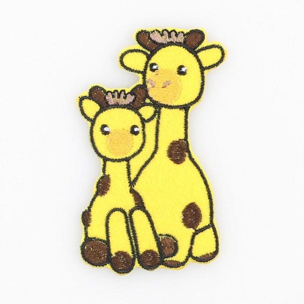 Strygemærke - Girafferne Lotta & Julia