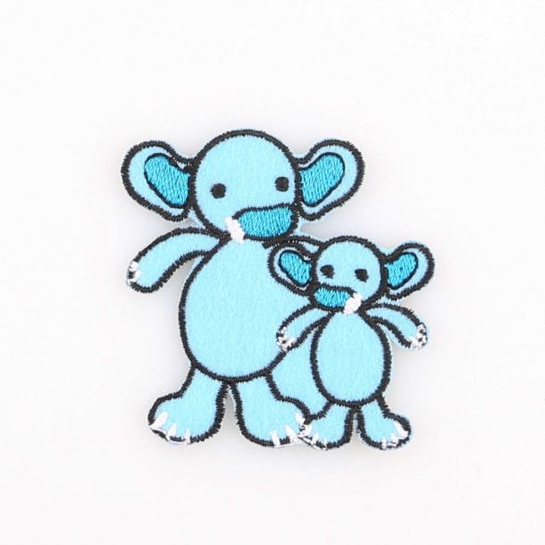 Strygemærke - Elefanterne Sara & Simba