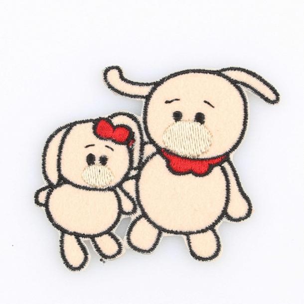 Strygemærke - Kaninerne Laura & Andy