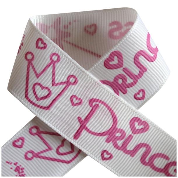 Grosgrainbånd - Prinsesse Pink