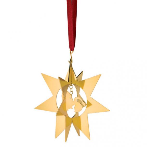 Stjerne med Den grimme ælling - H.C.Andersen julepynt