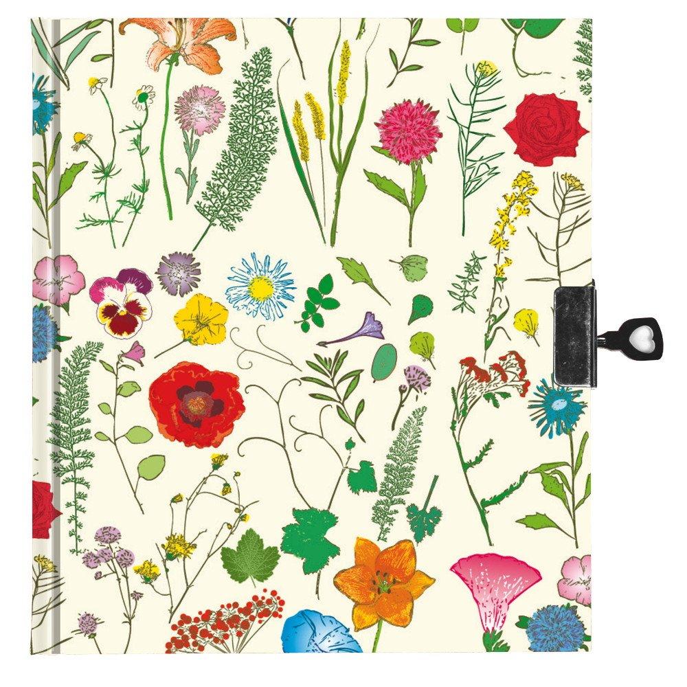 Dagbog med lås - Model Flora