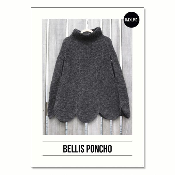 Opskrift Bellis Poncho  - Voksen