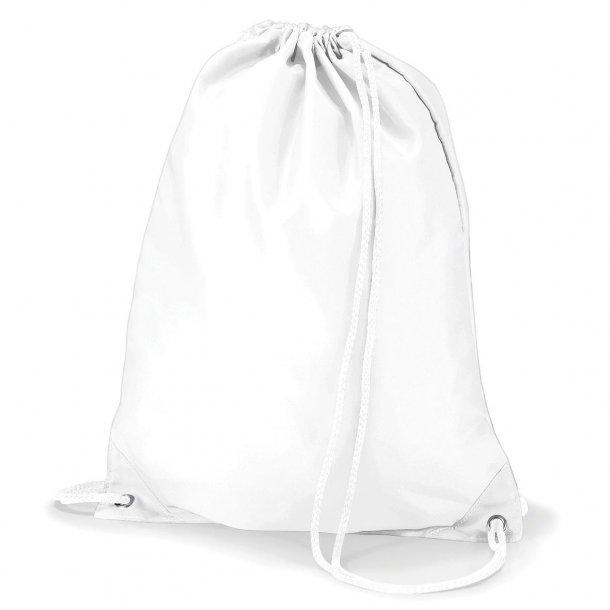 Gymnastikpose med navn - Hvid