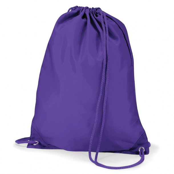 Gymnastikpose med navn - Lilla