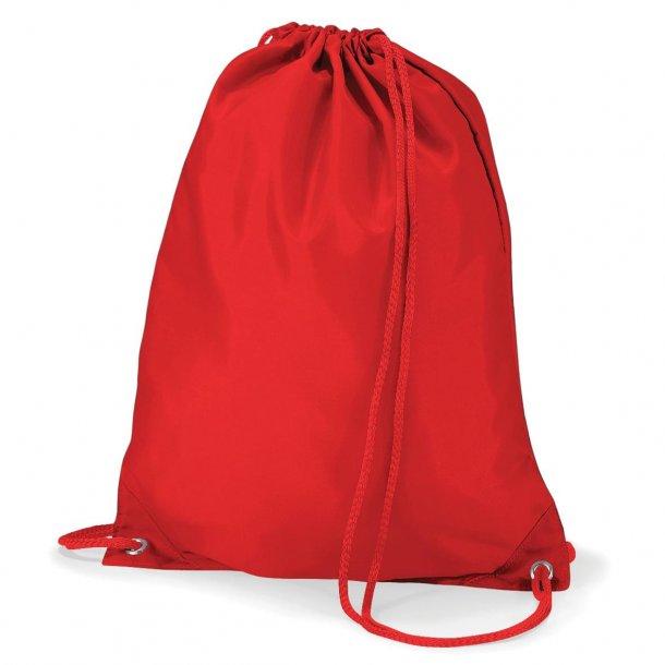 Gymnastikpose med navn - Rød