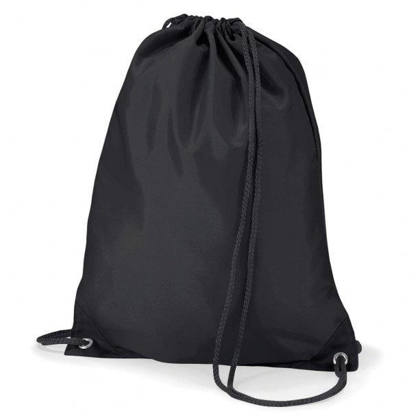 Gymnastikpose med navn - Sort