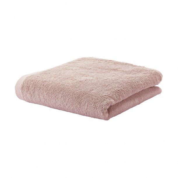 London håndklæde  - Støvet rosa