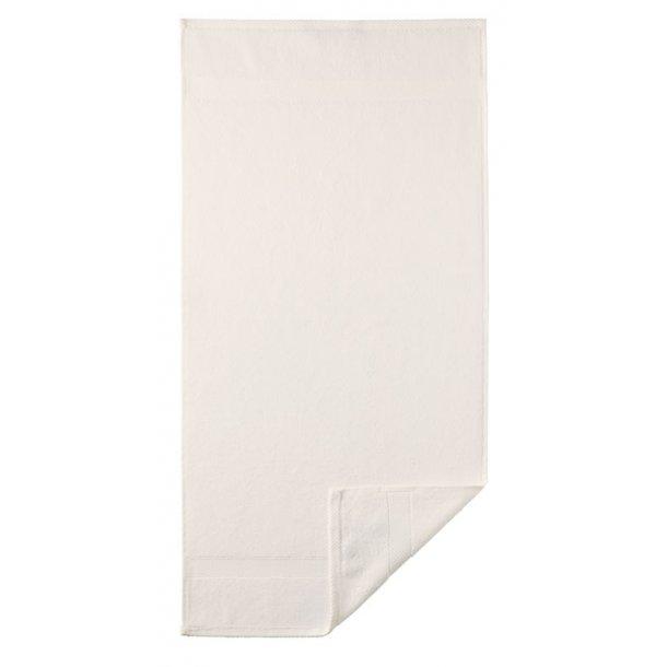 Diamant håndklæde  - Creme