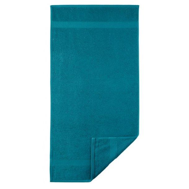 Diamant håndklæde  - Petroleum