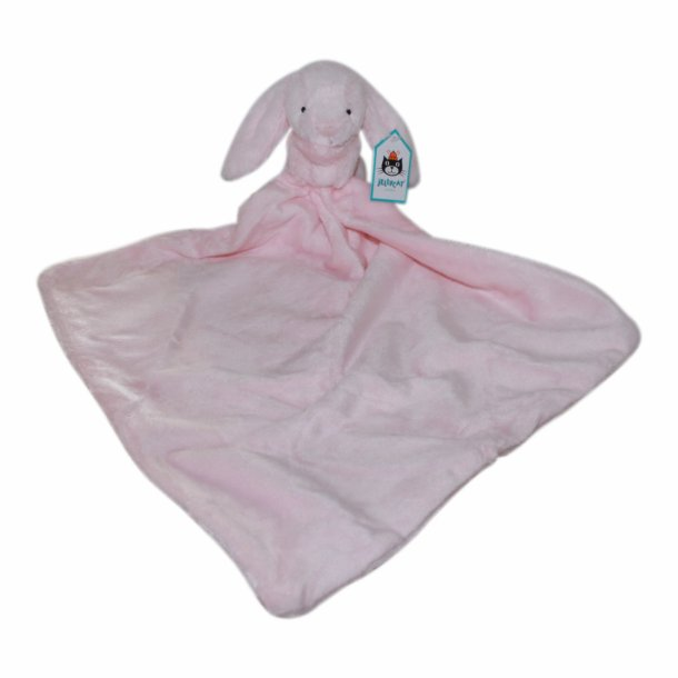 Jellycat - Bashful pink bunny soother nusseklud