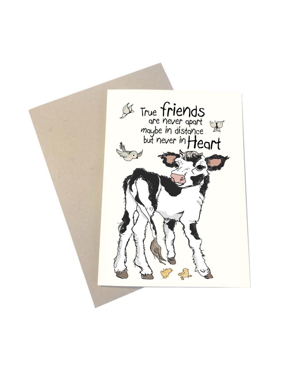 Tillykkekort - True Friends