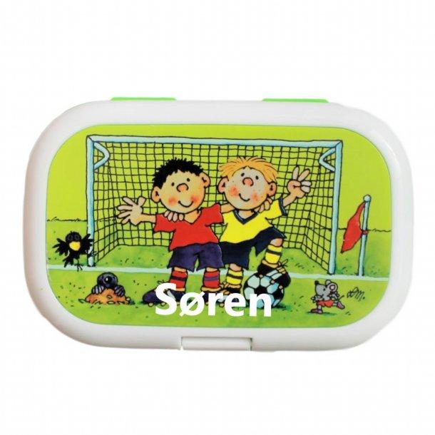 Madkasse Med navn - Fodboldspillere