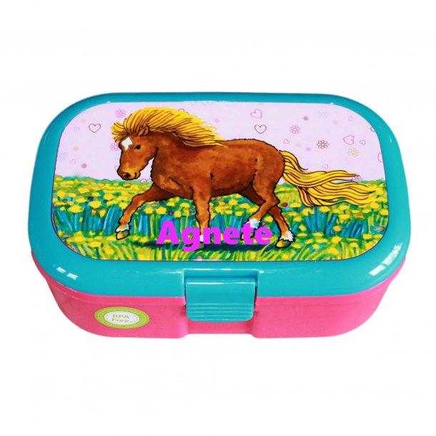Madkasse Med navn - Min pony