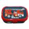 Madkasse Med navn - Rød brandbil