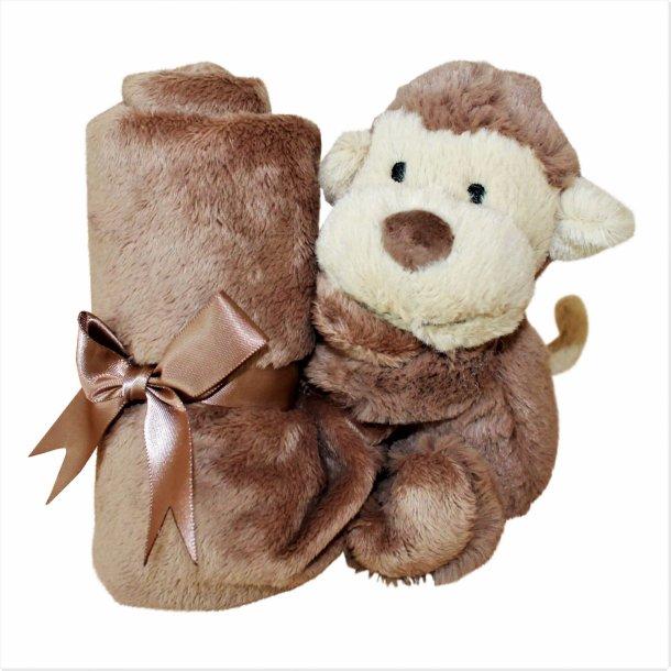 Jellycat Bashful monkey soother nusseklud