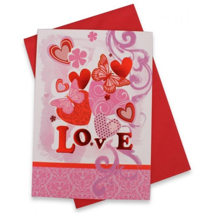 Tillykkekort Love