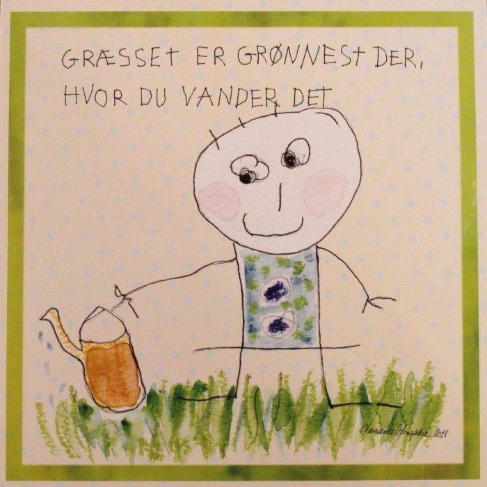 Tillykkekort fra Tusindfryd