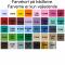 Penalhus - Grøn m/mønster