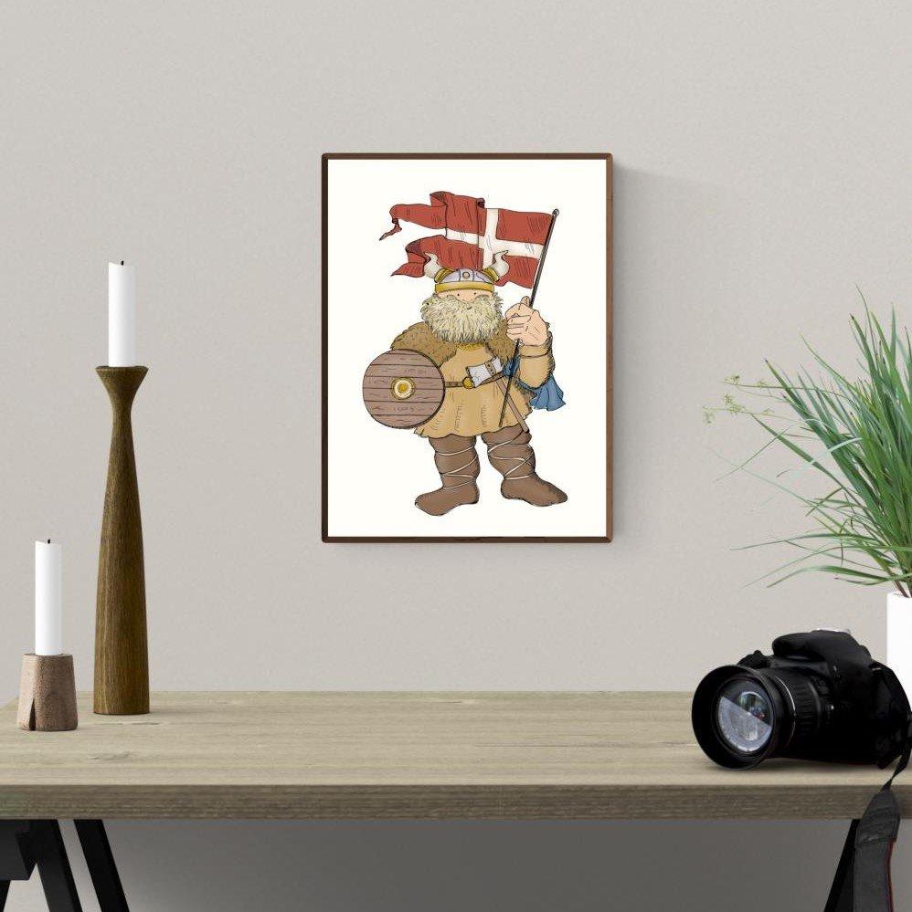 Plakat A4 - Vikingen