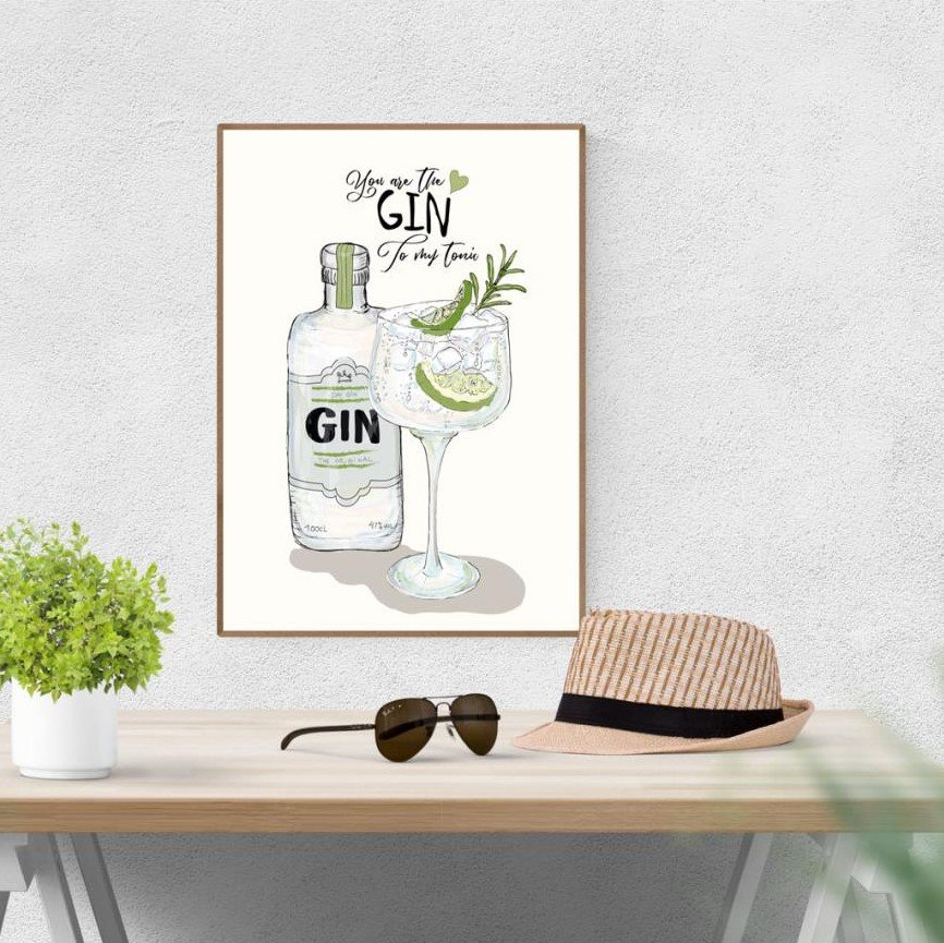 Plakat A3 - You are my Gin