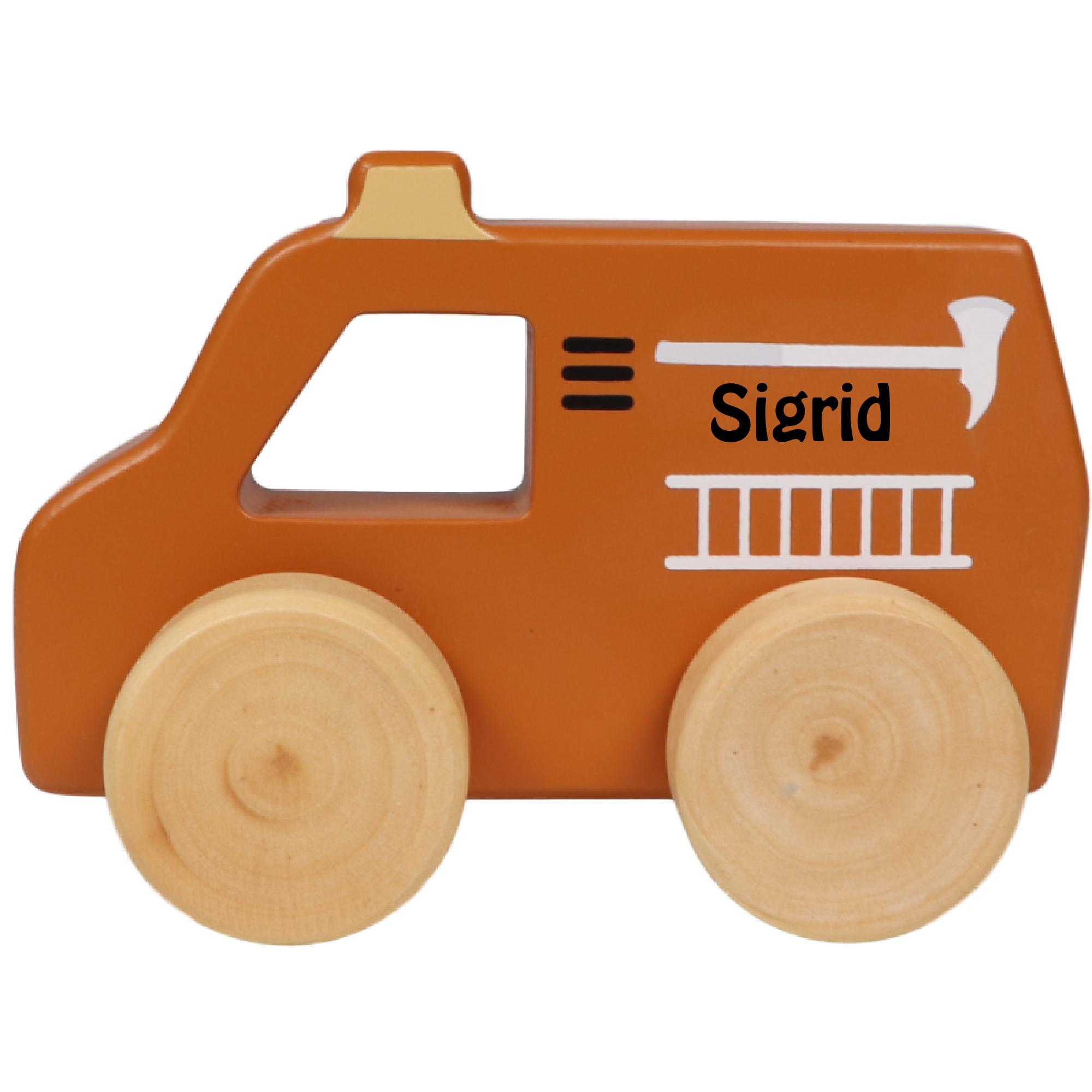 Tryco brandbil med navn