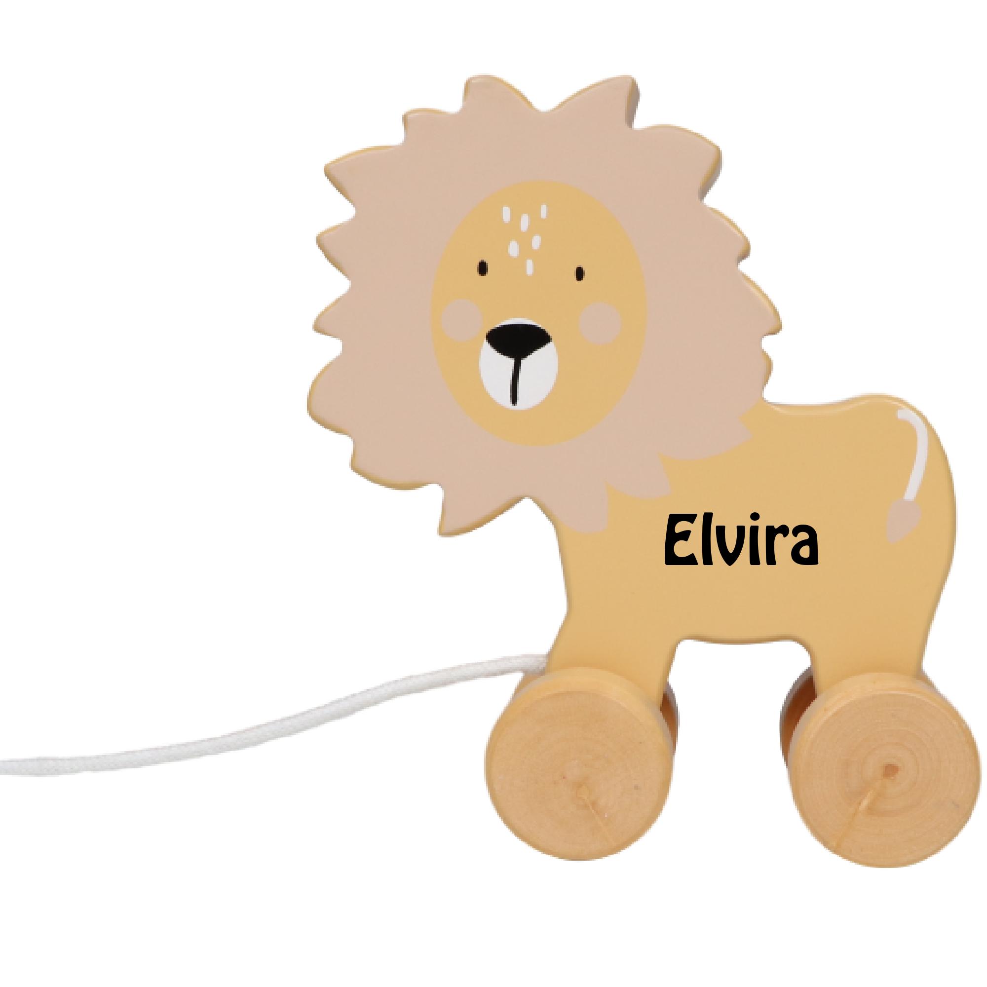Tryco trækdyr løve med navn