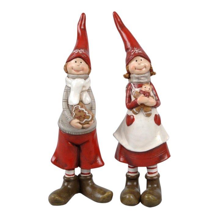 Julebørn - bagenisser 15 cm