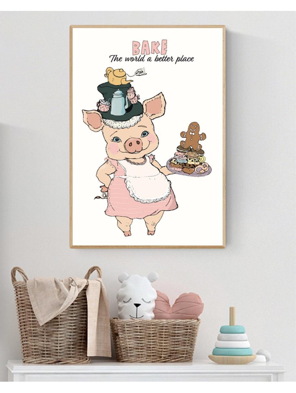 Plakat A3 - Bake the world a better place