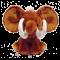 Brun dumbo Mammut Elefant bamse med navn