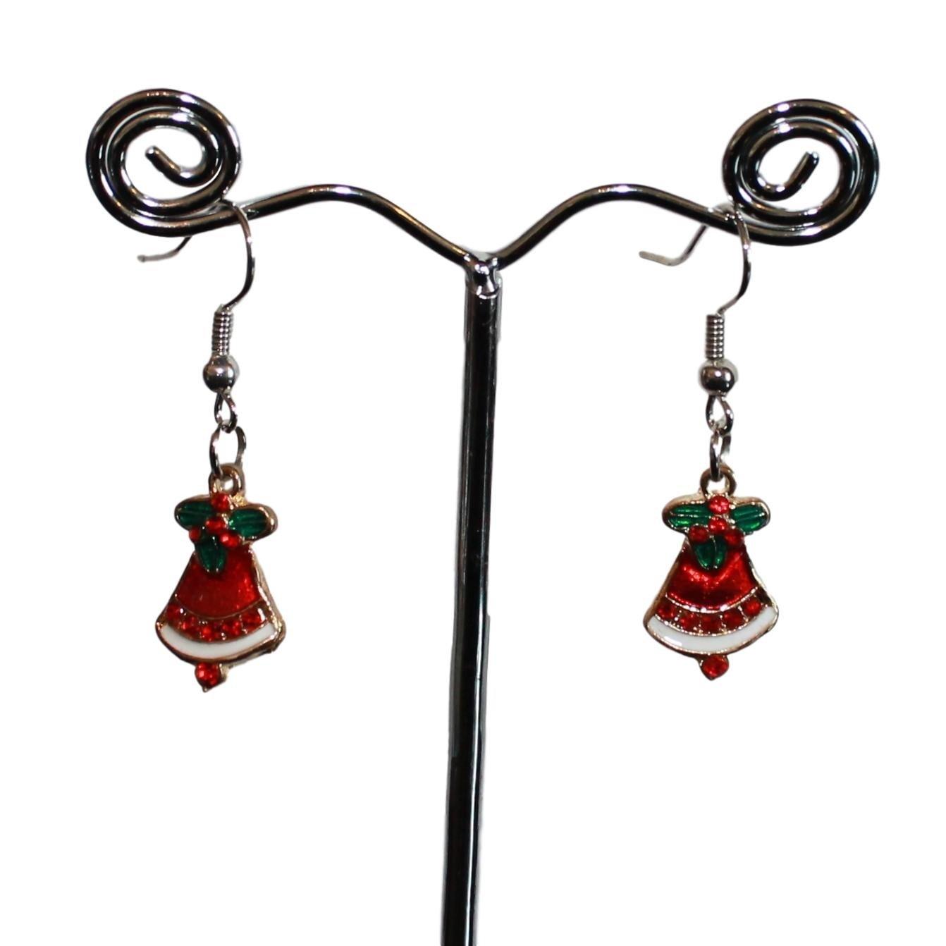 Øreringe med juleklokker