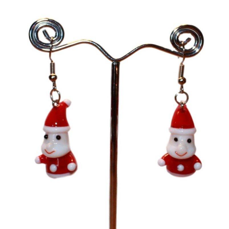 Øreringe med julemand