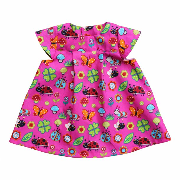 Babykjole/ pigekjole med vingeærmer