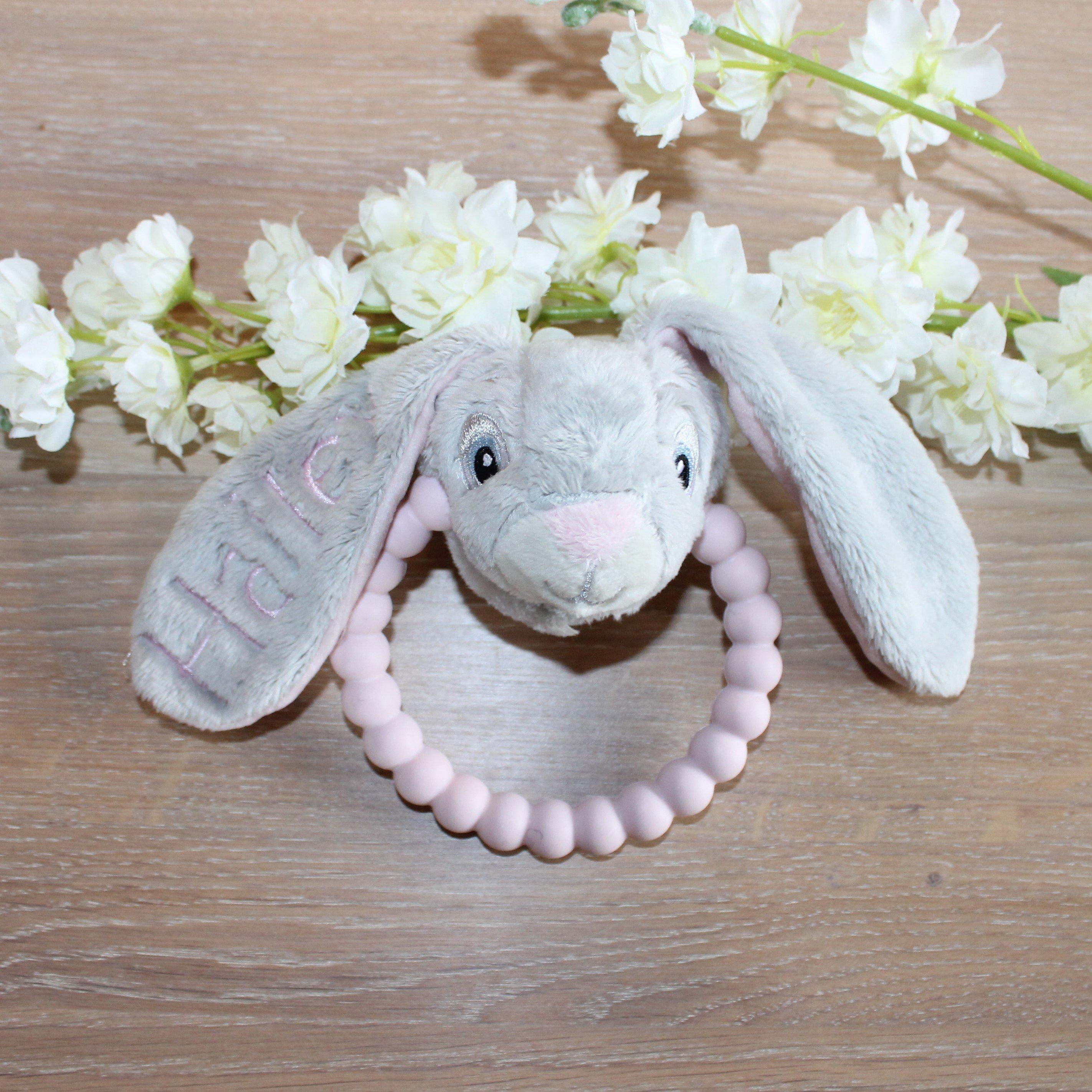 Bidering/rangle kanin - Pink