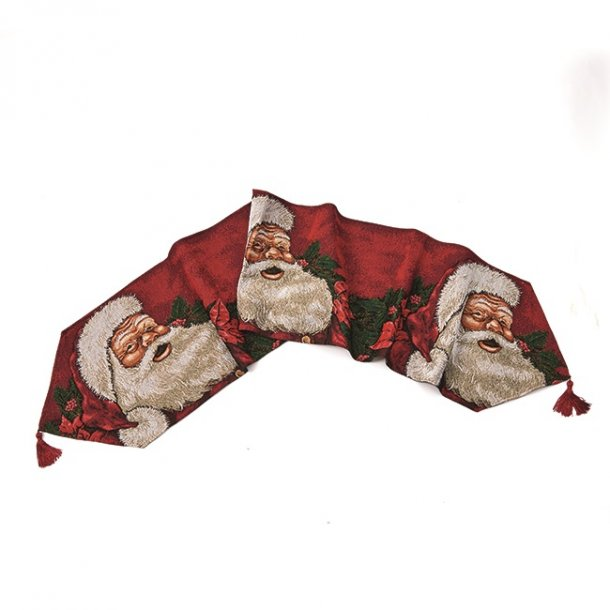 Bordløber med julemotiver af julemand