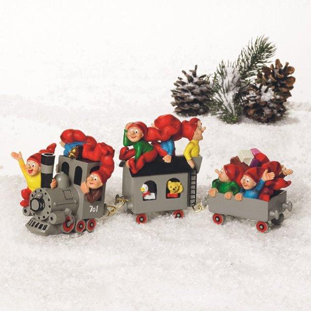 Bramming juletog med nisser