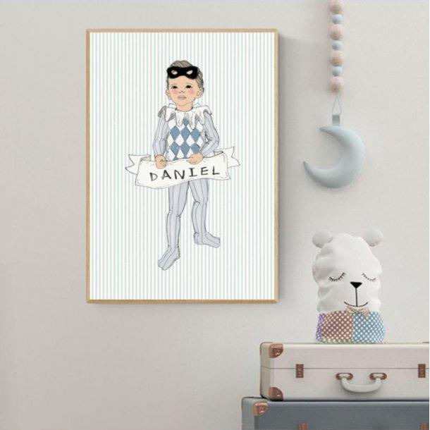 Plakat A3 - Harlekin boy