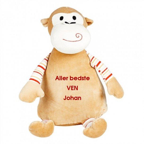 Cubbie Abe - Bamse med navn - Strib - Bamser med navn - Cubbie - Bæklund Design