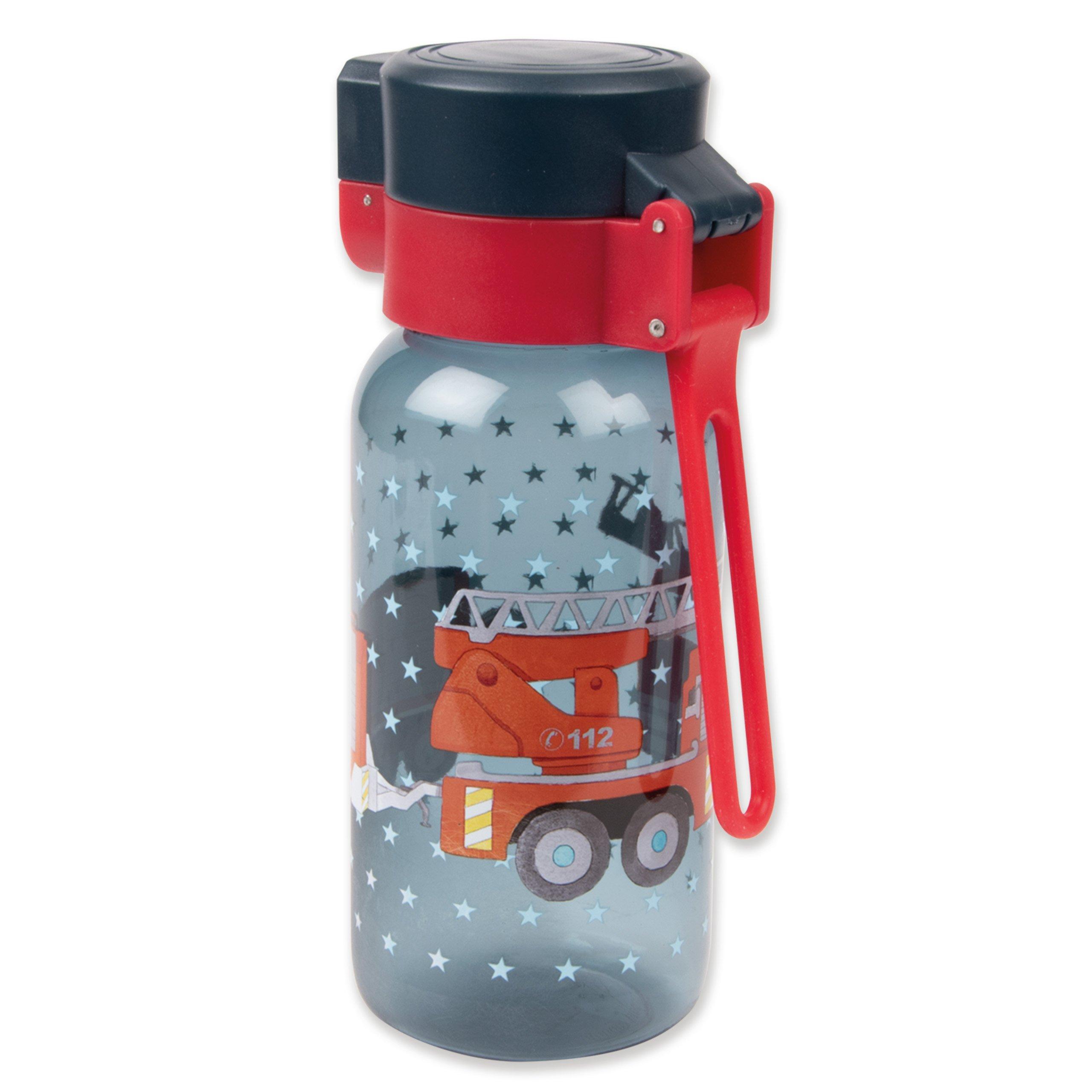 Drikkeflaske med navn - Brandbil