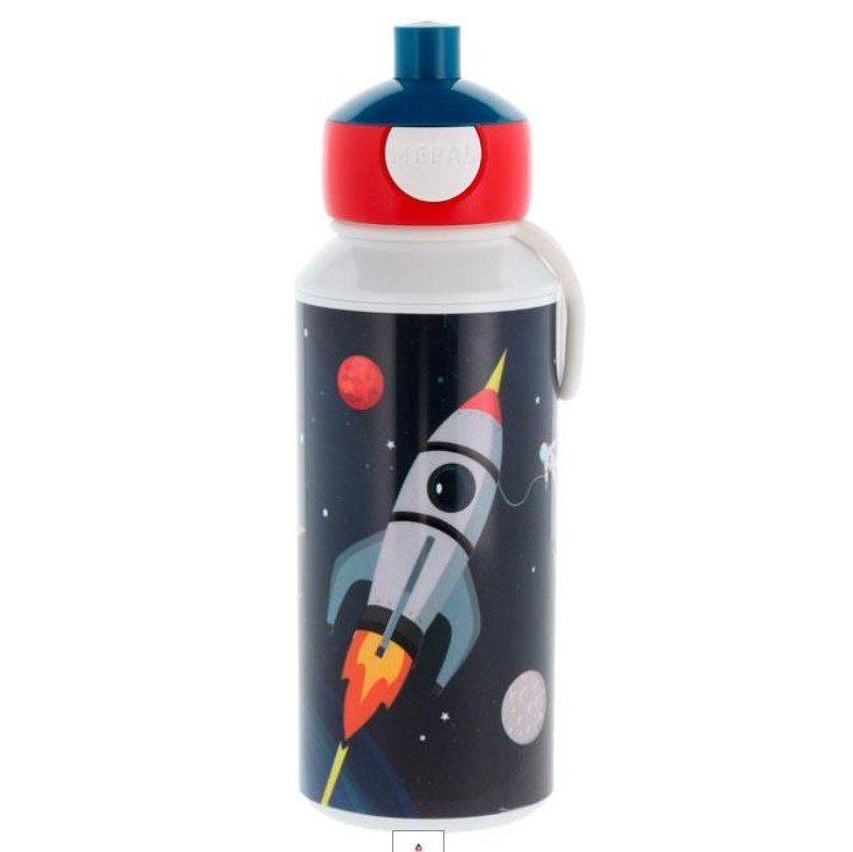 Drikkeflaske med navn - Space