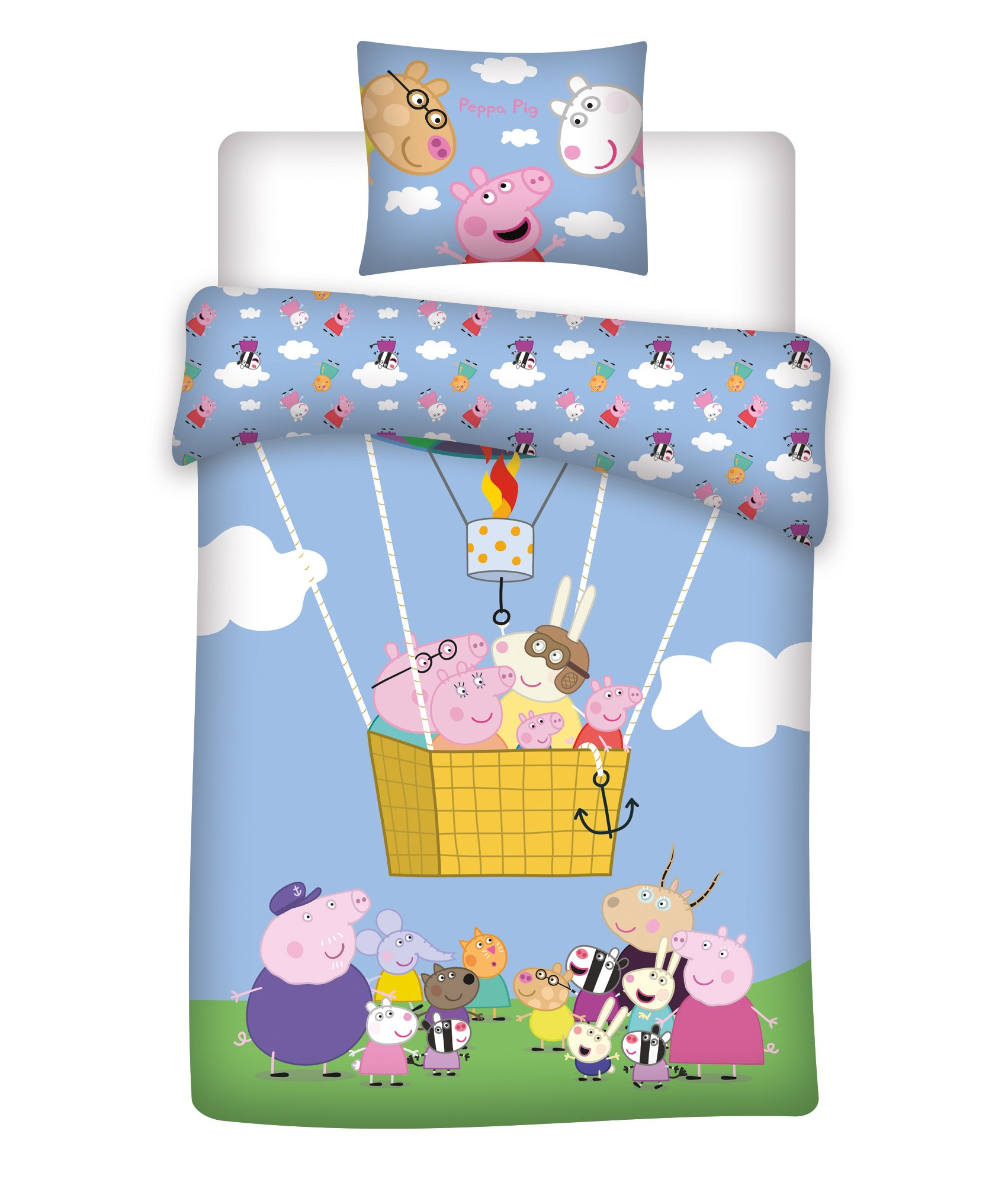 Voksen-sengetøj - Gurli Gris