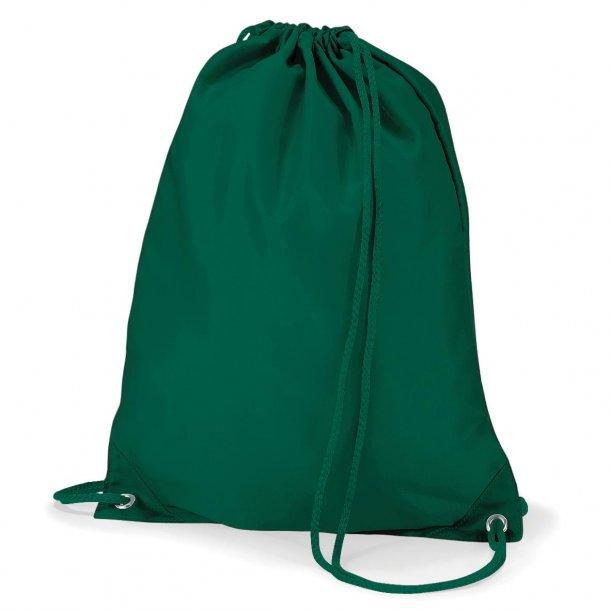 Gymnastikpose med navn - Mørkegrøn