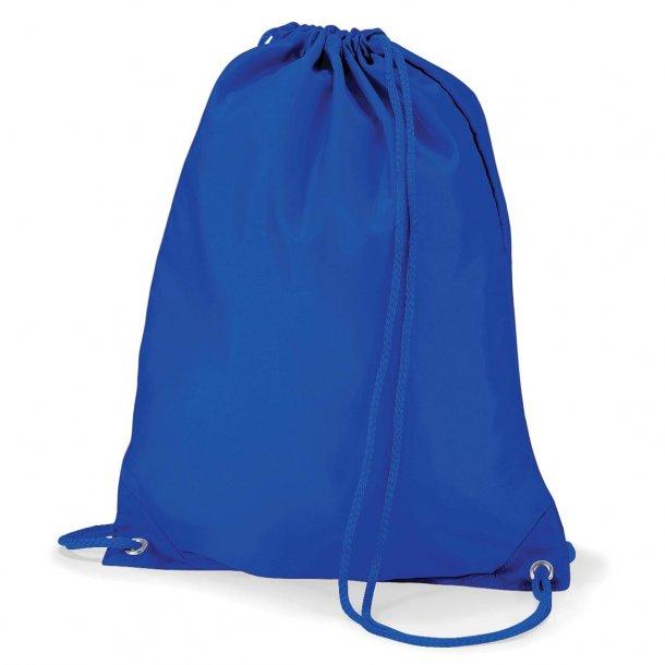 Gymnastikpose med navn - Blå