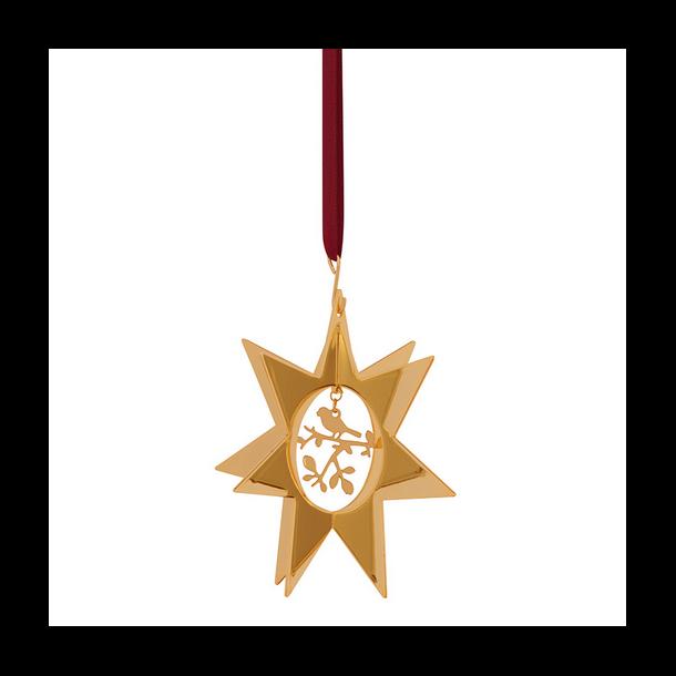 Stjerne med Nattergalen - H.C.Andersen julepynt