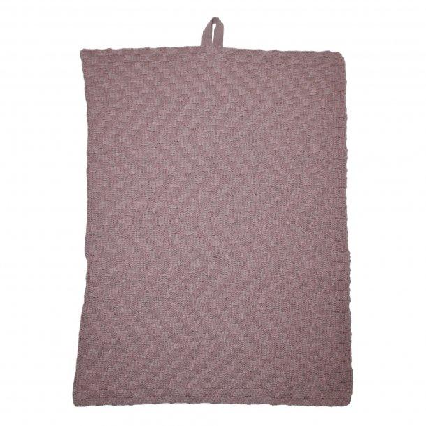 Håndklæde strikket fra Linedyr - 2 stk.