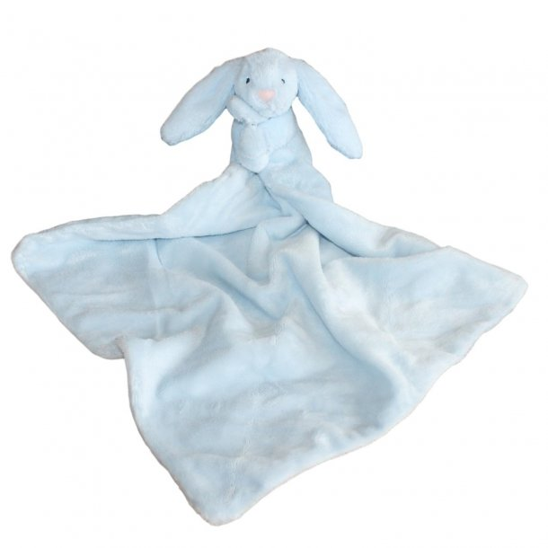 Jellycat - Bashful blue bunny soother nusseklud