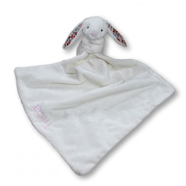 Jellycat - Blossom cream bunny soother nusseklud